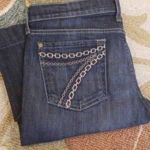 7 for all mankind DOJO Jeans wide leg 29 X 33